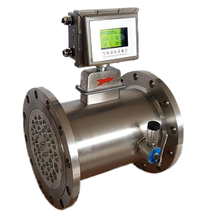 Gas turbine flow meter to measure gas